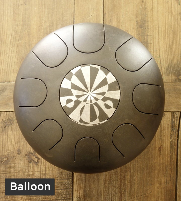 Balloon décoration gravure personnalisé Steel Tongue Drum - Sound Circle