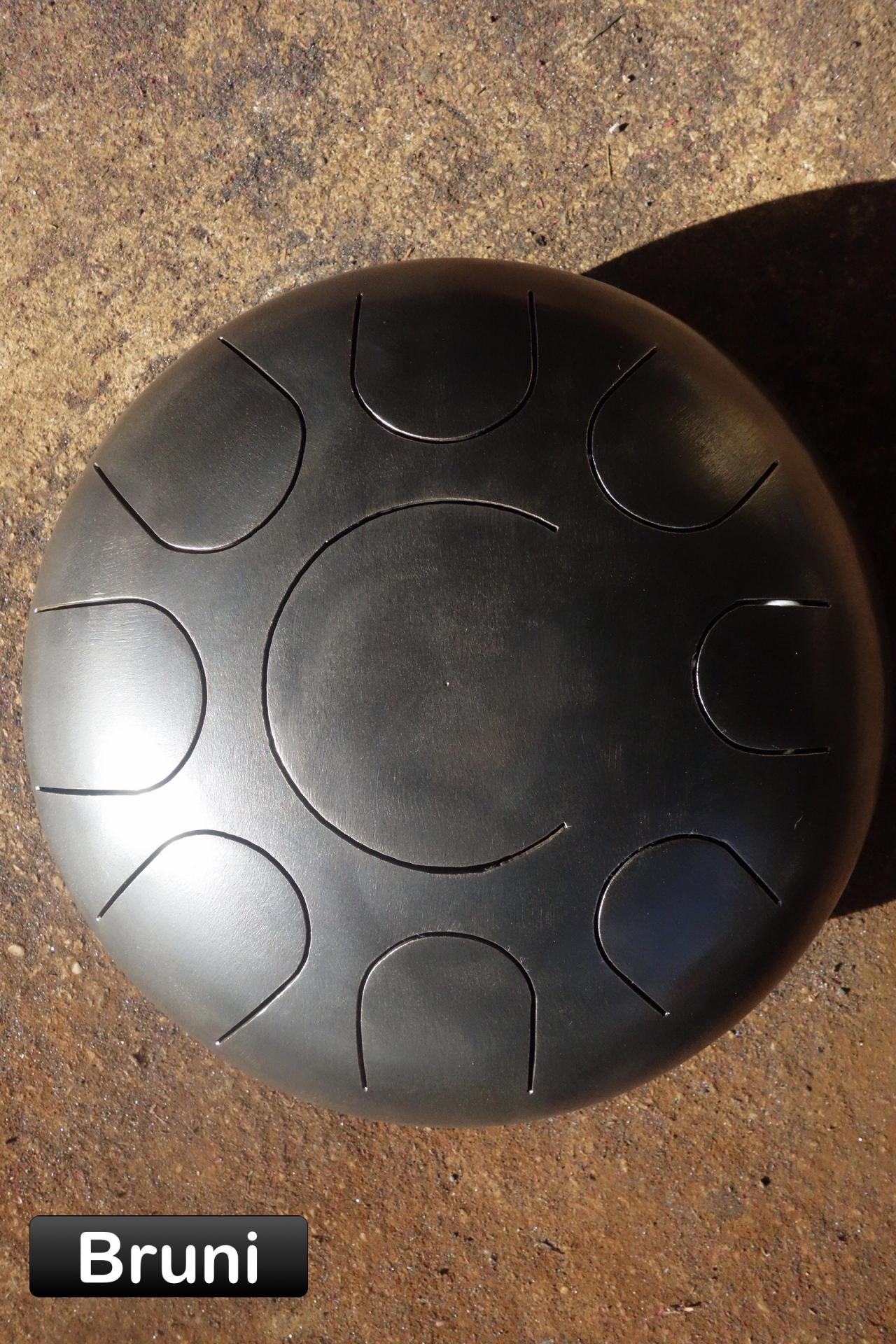 Steel tongue drum 9 notes bruni - Sound Circle