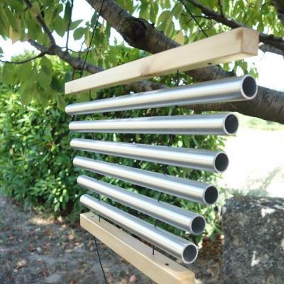 Tubalophone à 6 ou 8 tubes de 25 mm de diamètre