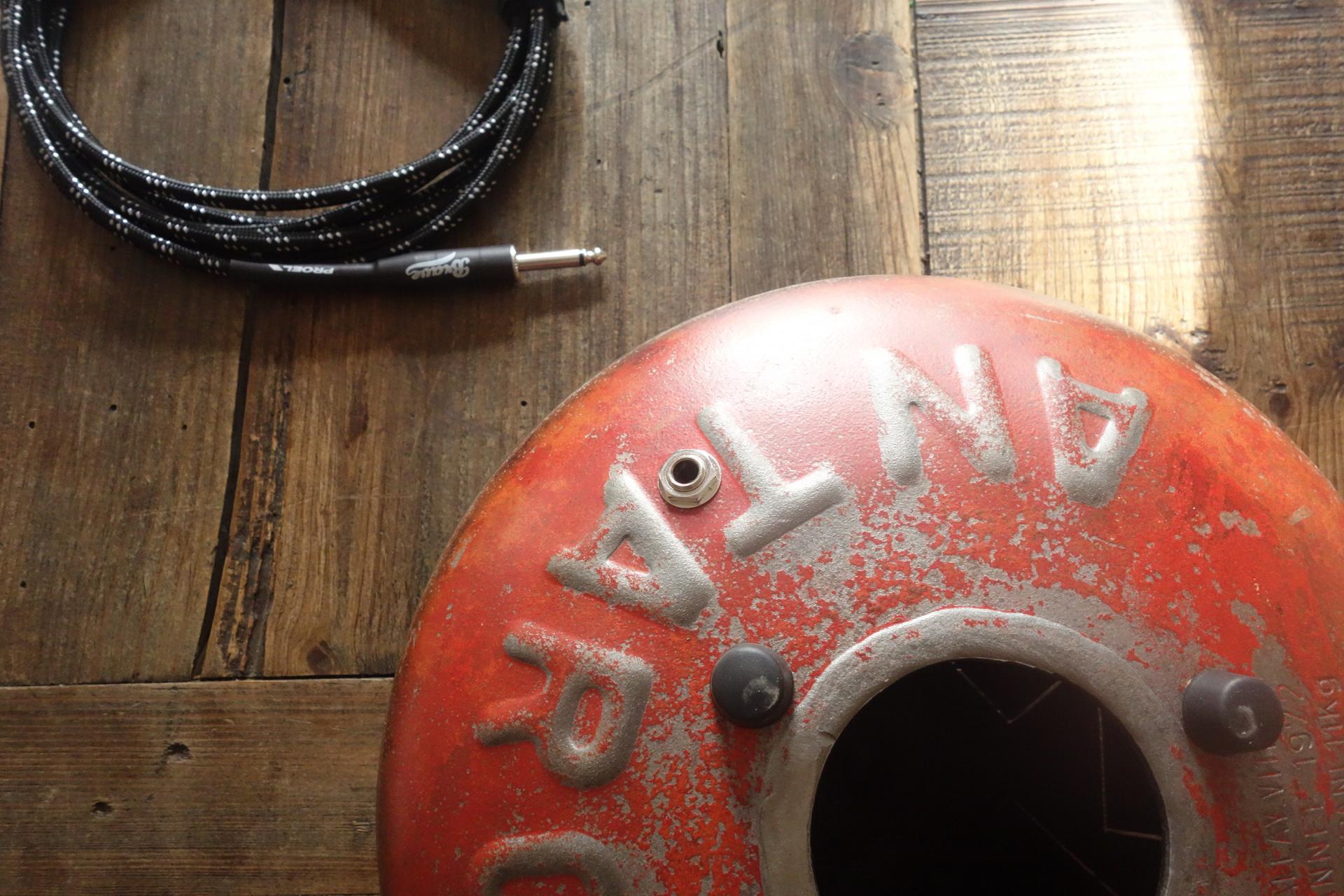 Steel tongue drum électro acoustique  - Sound Circle